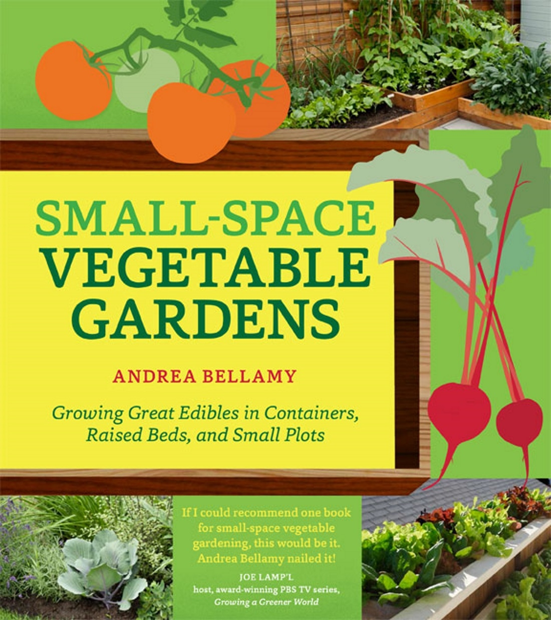 Small space vegetable gardens gardenbunch - Growing vegetables in small spaces collection ...